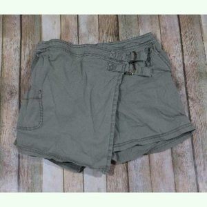 Anthropologie Hei Hei Utility Skirt Shorts Buckles